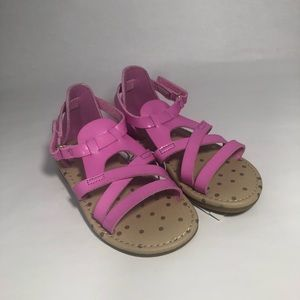 1869a53b85a8 Toddler Girl s Cat   Jack Pink Sandals size 8